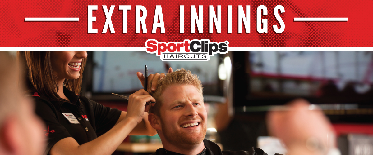 The Sport Clips Haircuts of Mira Loma  Extra Innings Offerings