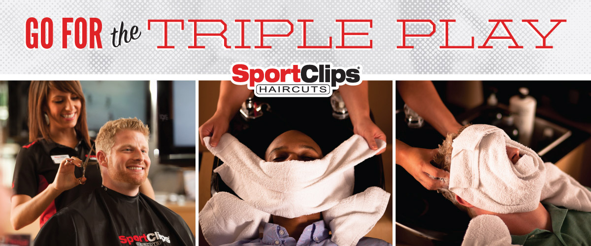 The Sport Clips Haircuts of Mira Loma  Triple Play